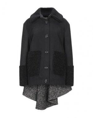 Пальто AU JOUR LE. Цвет: черный