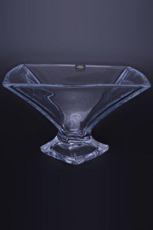 Фруктовница 32 см Crystalite Bohemia. Цвет: прозрачный