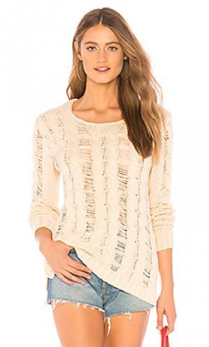 Пуловер ramona Lovers + Friends. Цвет: кремовый