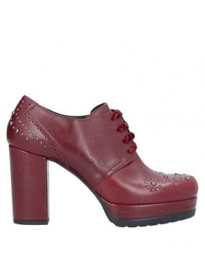 Обувь на шнурках GUIDO SGARIGLIA. Цвет: красно-коричневый