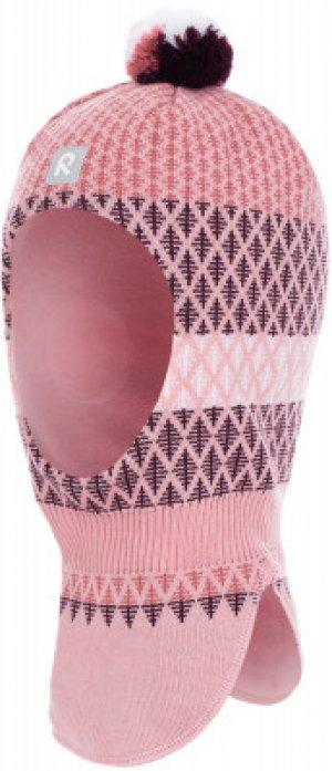 Шапка-шлем для девочек Valittu, размер 54 Reima. Цвет: розовый