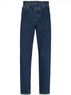 Зауженные джинсы Newel Carhartt WIP. Цвет: синий