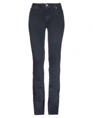 Джинсовые брюки BLACK ORCHID. Цвет: темно-синий