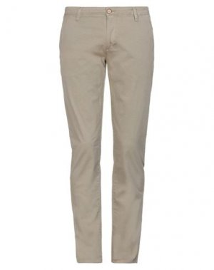 Повседневные брюки GAUDÌ. Цвет: хаки