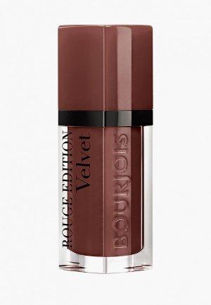 Тинт для губ Bourjois Rouge Edition Velvet, Тон 33. Цвет: коричневый