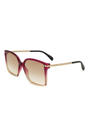 Солнцезащитные очки Givenchy. Цвет: красный