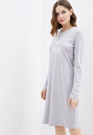 Платье домашнее Blackspade. Цвет: серый