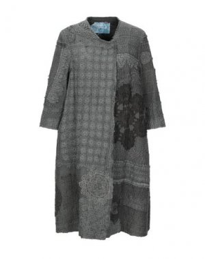 Легкое пальто BY WALID. Цвет: темно-зеленый