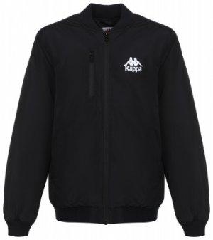 Куртка утепленная для мальчиков , размер 134 Kappa. Цвет: черный