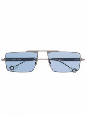 Солнцезащитные очки Eastern в квадратной оправе Etudes. Цвет: золотистый