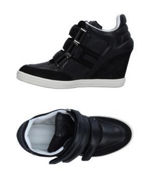Низкие кеды и кроссовки KATIE GRAND LOVES HOGAN. Цвет: черный