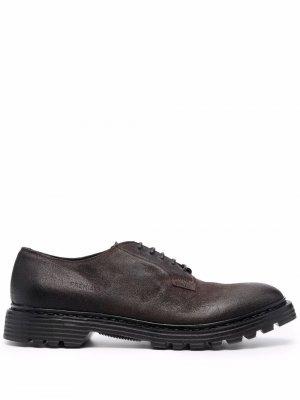 Leather lace-up shoes Premiata. Цвет: черный