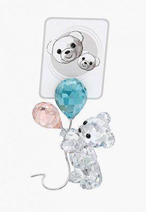 Фигурка декоративная Swarovski® My Little Kris Bear. Цвет: разноцветный