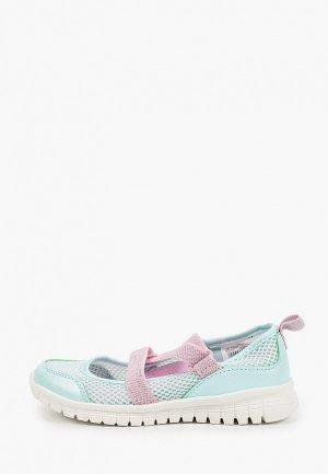 Туфли Demix SWEET. Цвет: бирюзовый