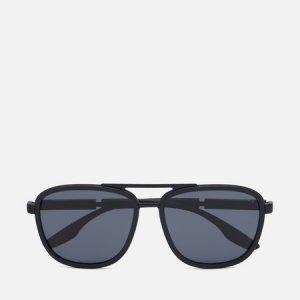 Солнцезащитные очки 50XS-08O02G-3P Polarized Prada Linea Rossa. Цвет: чёрный
