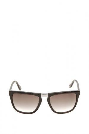 Очки солнцезащитные с линзами Vivienne Westwood. Цвет: 01 черный, серебристый