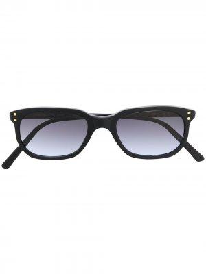 Солнцезащитные очки Erice в прямоугольной оправе Epos. Цвет: черный