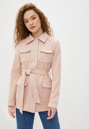 Куртка Softy. Цвет: розовый