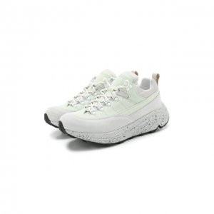 Кожаные кроссовки Diemme. Цвет: зелёный