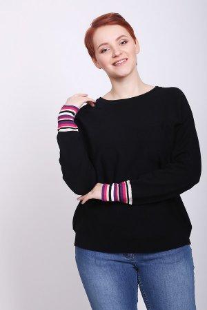 Пуловер Pezzo. Цвет: чёрный
