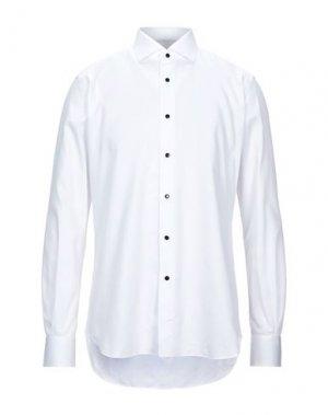 Pубашка CELLINI. Цвет: белый