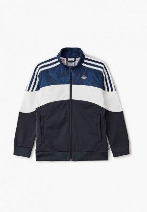 Олимпийка adidas Originals BX2.0 TRACK TOP. Цвет: черный