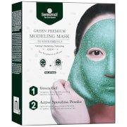 Маска-пленка для лица SHANGPREE Green Premium Modeling Mask 50 мл с миской и шпателем