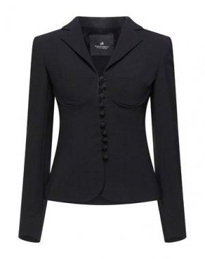 Пиджак COMPAGNIA ITALIANA. Цвет: черный