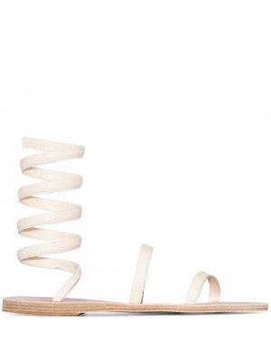 Сандалии Ofis с ремешками Ancient Greek Sandals. Цвет: нейтральные цвета