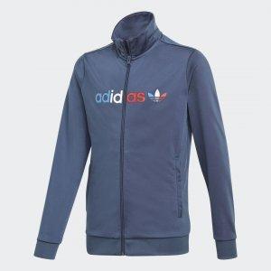 Олимпийка Adicolor Originals adidas. Цвет: синий