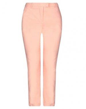 Повседневные брюки G.SEL. Цвет: лососево-розовый