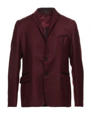 Пиджак VALENTINO. Цвет: красно-коричневый