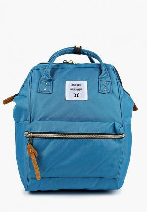 Рюкзак Anello MINI 10L. Цвет: голубой