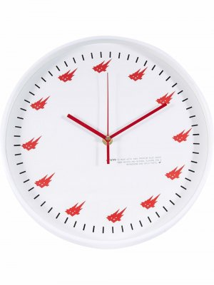 Настенные часы Cacti Travis Scott. Цвет: белый