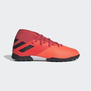 Футбольные бутсы Nemeziz 19.3 TF Performance adidas. Цвет: красный