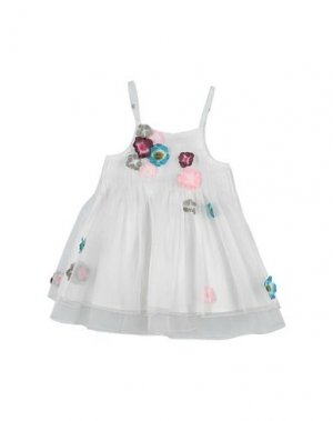 Платье LILI GAUFRETTE. Цвет: белый