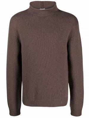 Джемпер с высоким воротником Filippa K. Цвет: коричневый