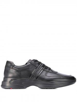 Кроссовки со вставками Lloyd. Цвет: черный