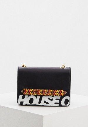 Сумка House of Holland. Цвет: черный