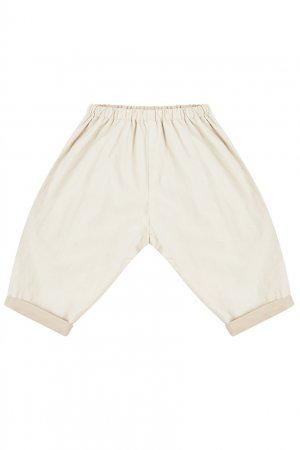 Хлопковые шорты на резинке Bonpoint. Цвет: multicolor