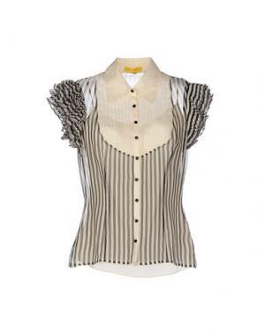 Pубашка CATHERINE MALANDRINO. Цвет: бежевый