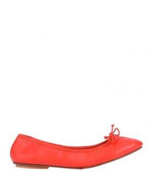 Балетки BAGLLERINA. Цвет: красный