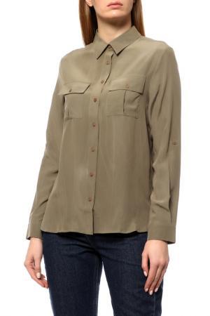 Рубашка-блузка Disetta. Цвет: olive