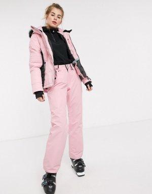 Розовые горнолыжные брюки -Розовый Surfanic