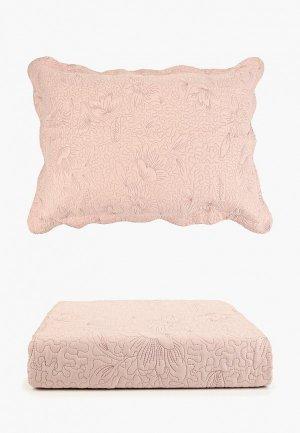 Комплект с покрывалом Sofi De Marko. Цвет: розовый
