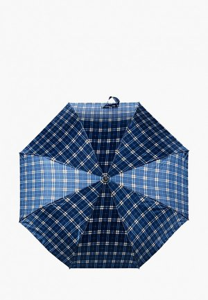 Зонт складной Zemsa. Цвет: синий