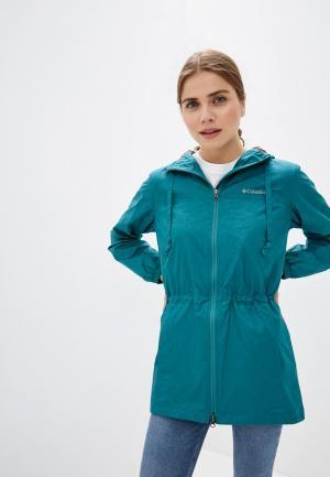 Парка Columbia Auroras Wake™ III Mid Jacket. Цвет: зеленый