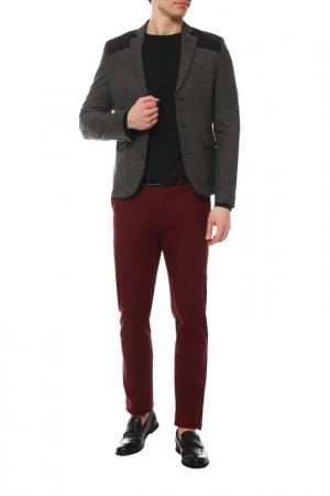 Пиджак KAISER. Цвет: темно-серый, темно-коричневый,