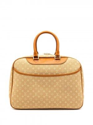 Сумка Deauville pre-owned Louis Vuitton. Цвет: коричневый