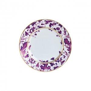Обеденная тарелка Prunus Bernardaud. Цвет: фиолетовый
